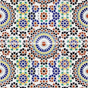 Esmina - carreaux motif arabe